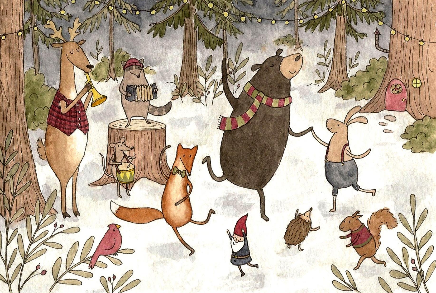 Woodland Christmas party – Ellen Burch