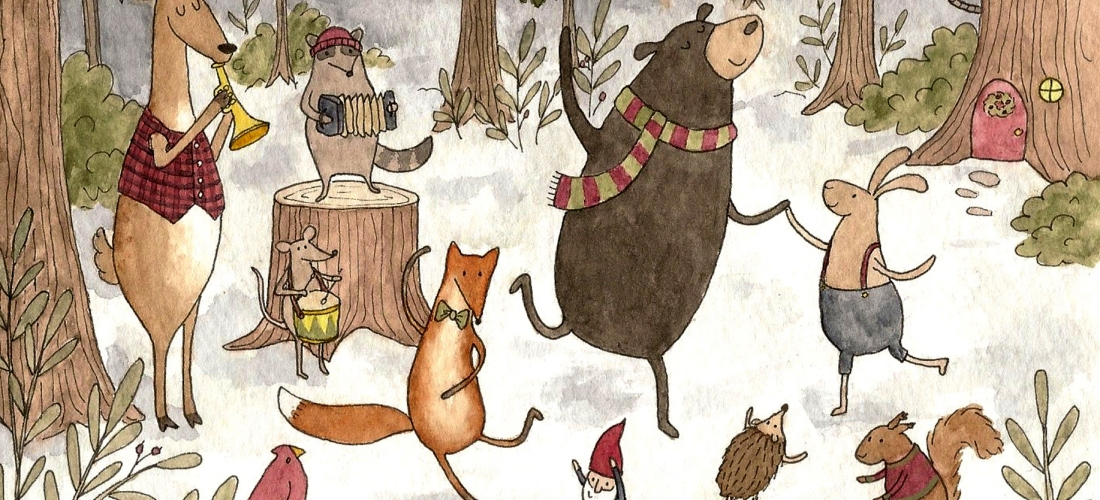 woodland christmas party - Woodland Christmas